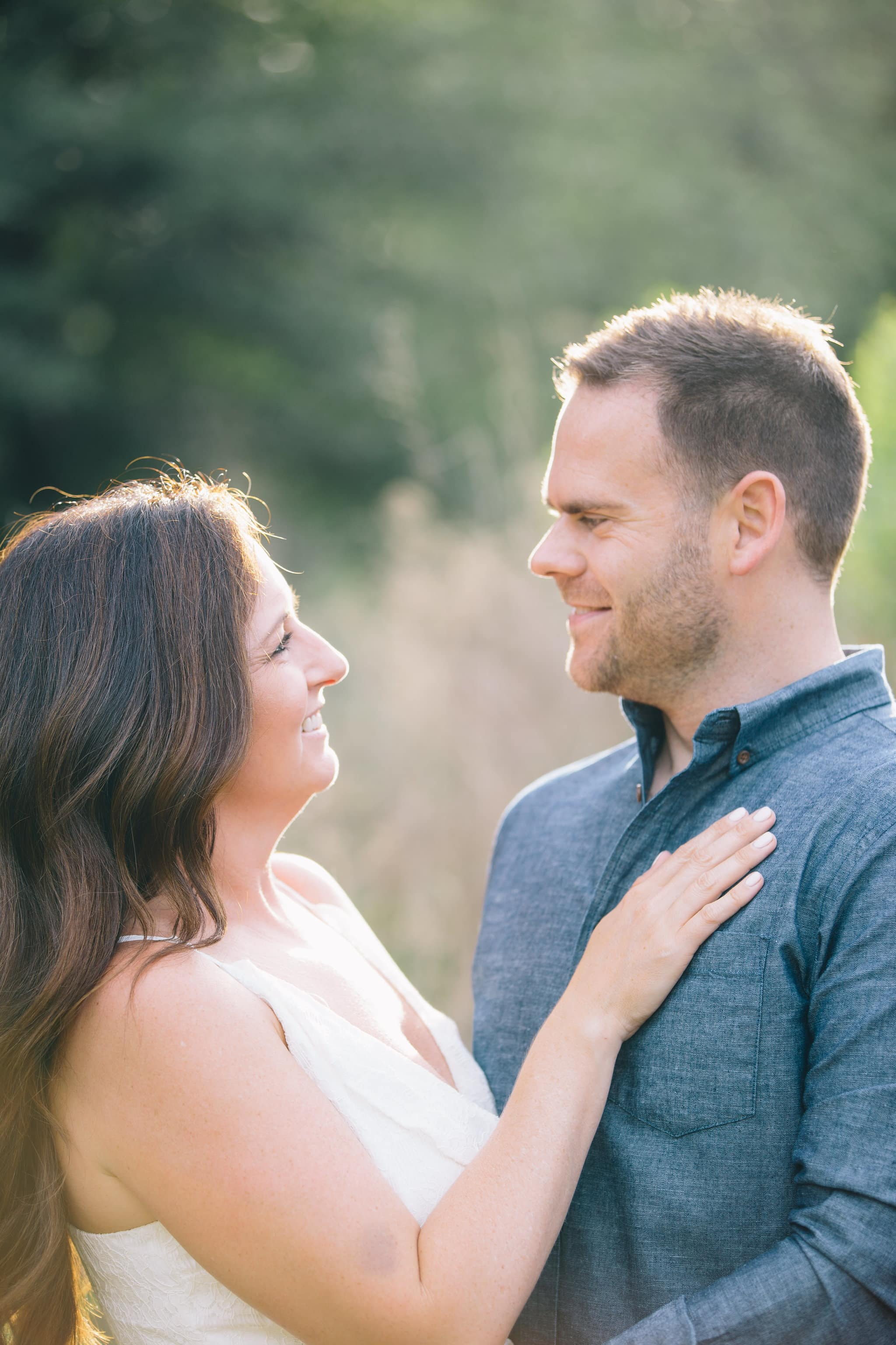 Outdoor Houston Engagement Session
