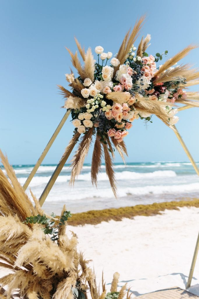 Tulum Boho Destination Wedding